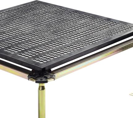 全钢通风(HPL贴面)地板